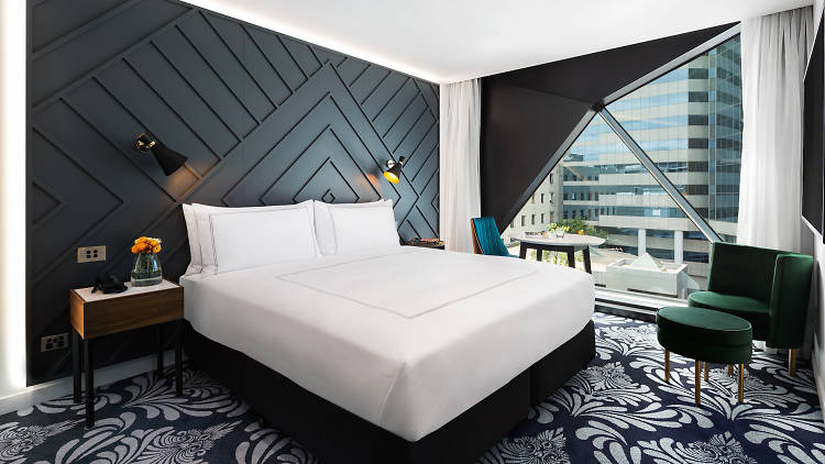 A room at Sydney's West Hotel
