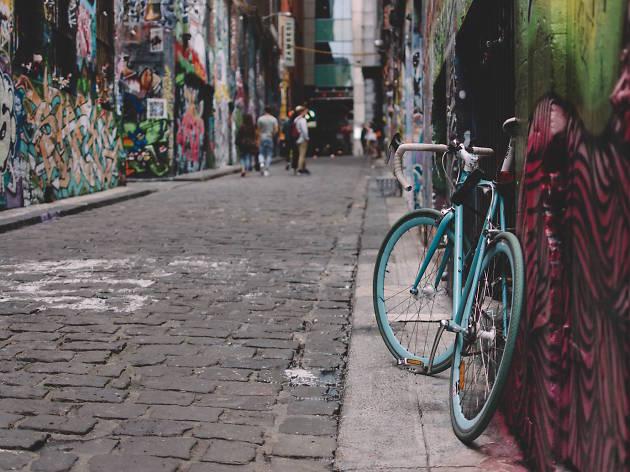 Generic bike graffiti