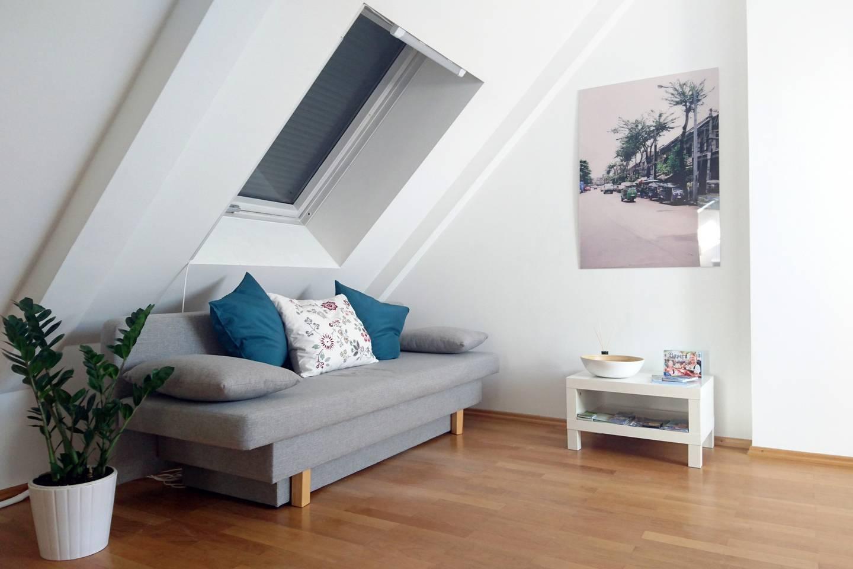 Top-floor apartment in Schwabing