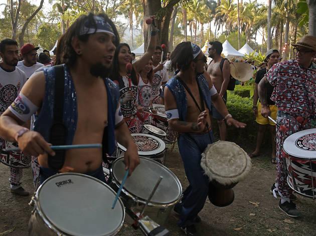 Actividades en el Carnaval de Bahidorá