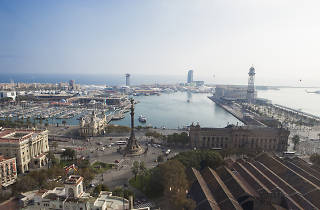 Barcelona mar Colom