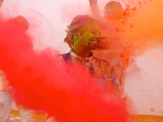 Time Out sessions at Cinnamon Kitchen's House of Holi