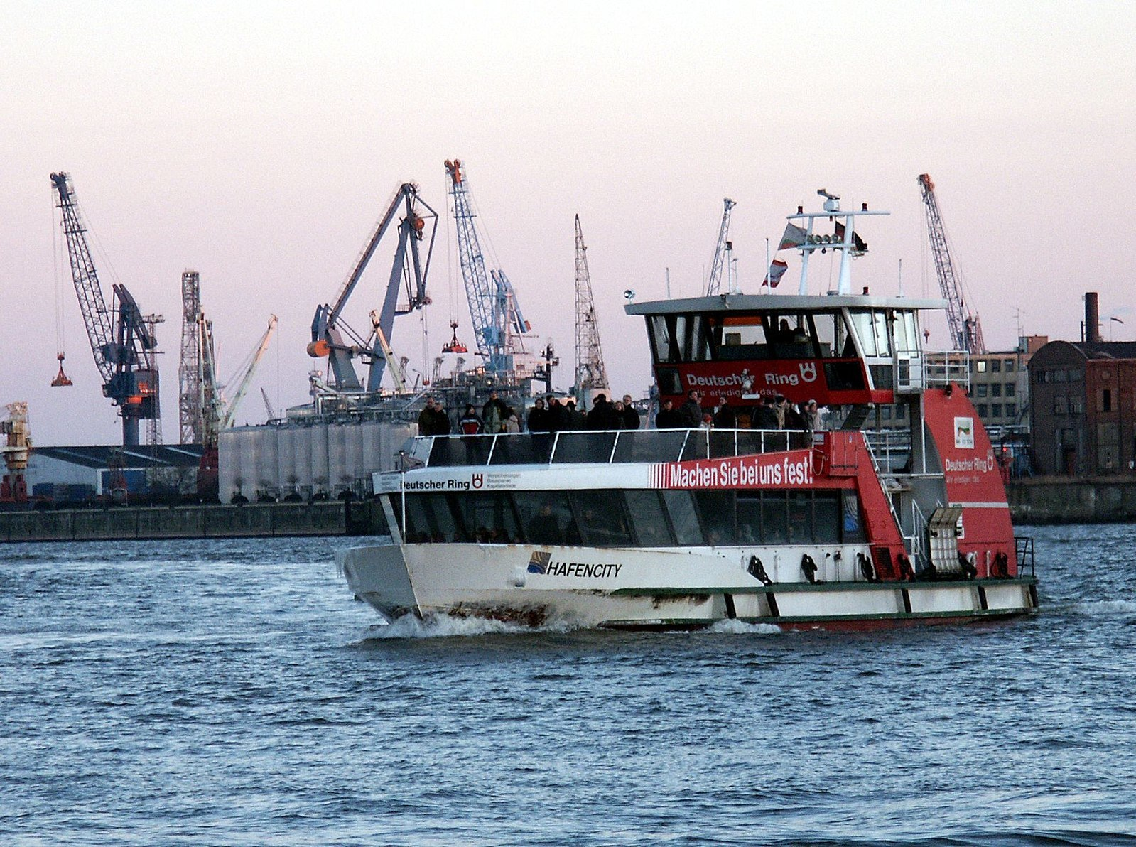 Hafenfähre 62 Hamburg