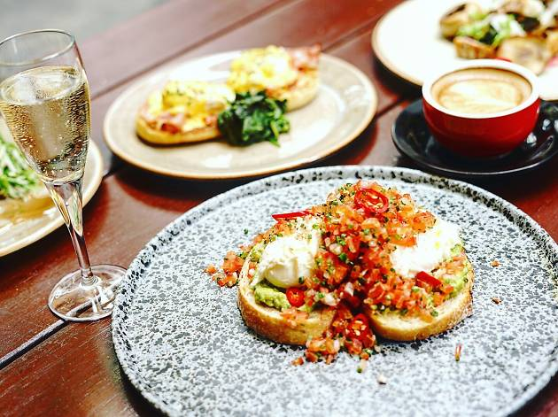 Have a beachy brunch with Newmarket's Bottomless Martini Brunch Sundays