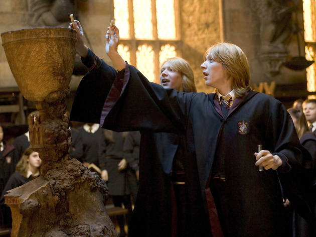 Go behind the scenes of 'The Goblet of Fire' at this new Harry Potter Studio Tour installation