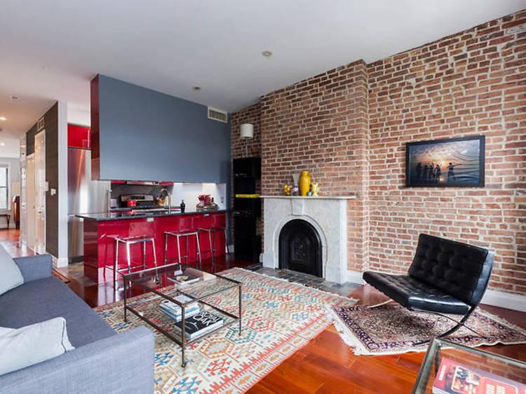 Vibrant Brownstone Penthouse