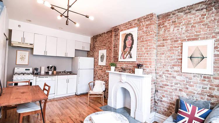 Gorgeous Duplex Brownstone Apartment