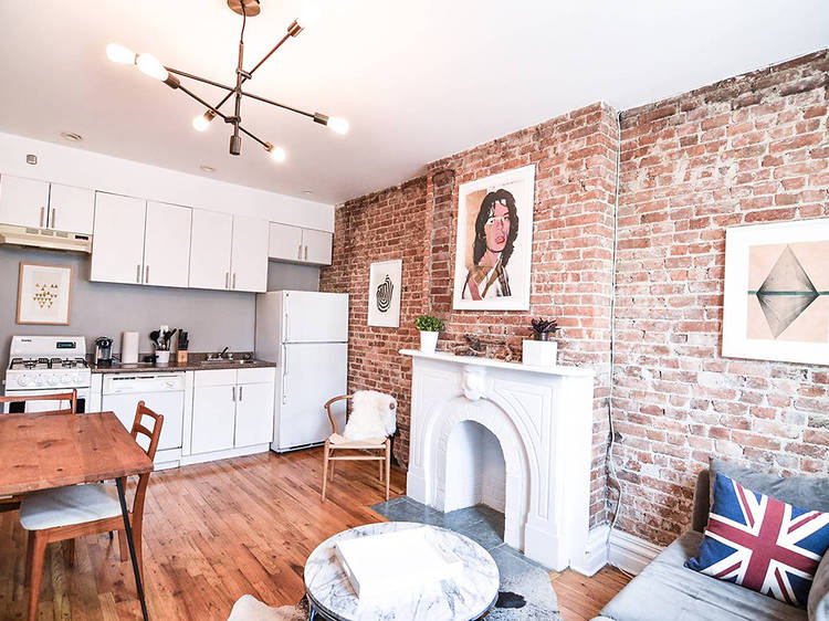 Check out these 11 Airbnbs with fireplaces in NYC
