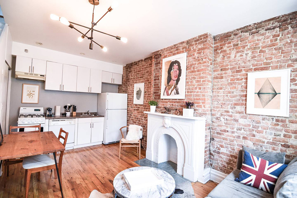 11 Airbnbs with fireplaces in NYC