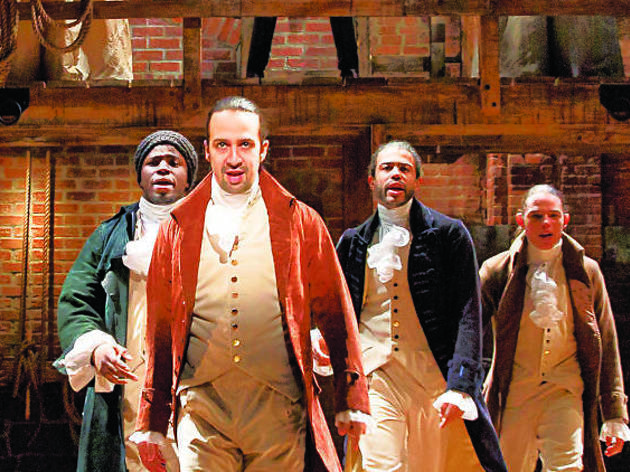 This NYC Hamilton-inspired program is a must for Broadway fans