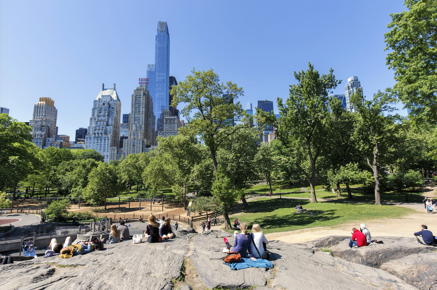 Get ready for 70 degree weather in New York on Wednesday