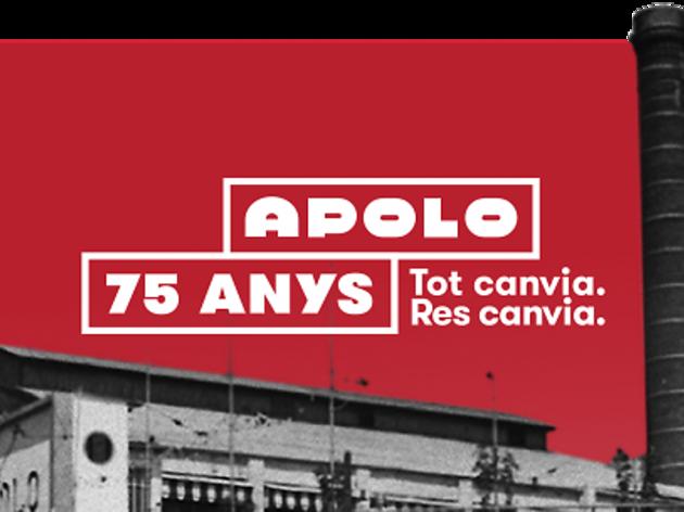 5 motius per no perdre's la festa de 75 aniversari d'Apolo