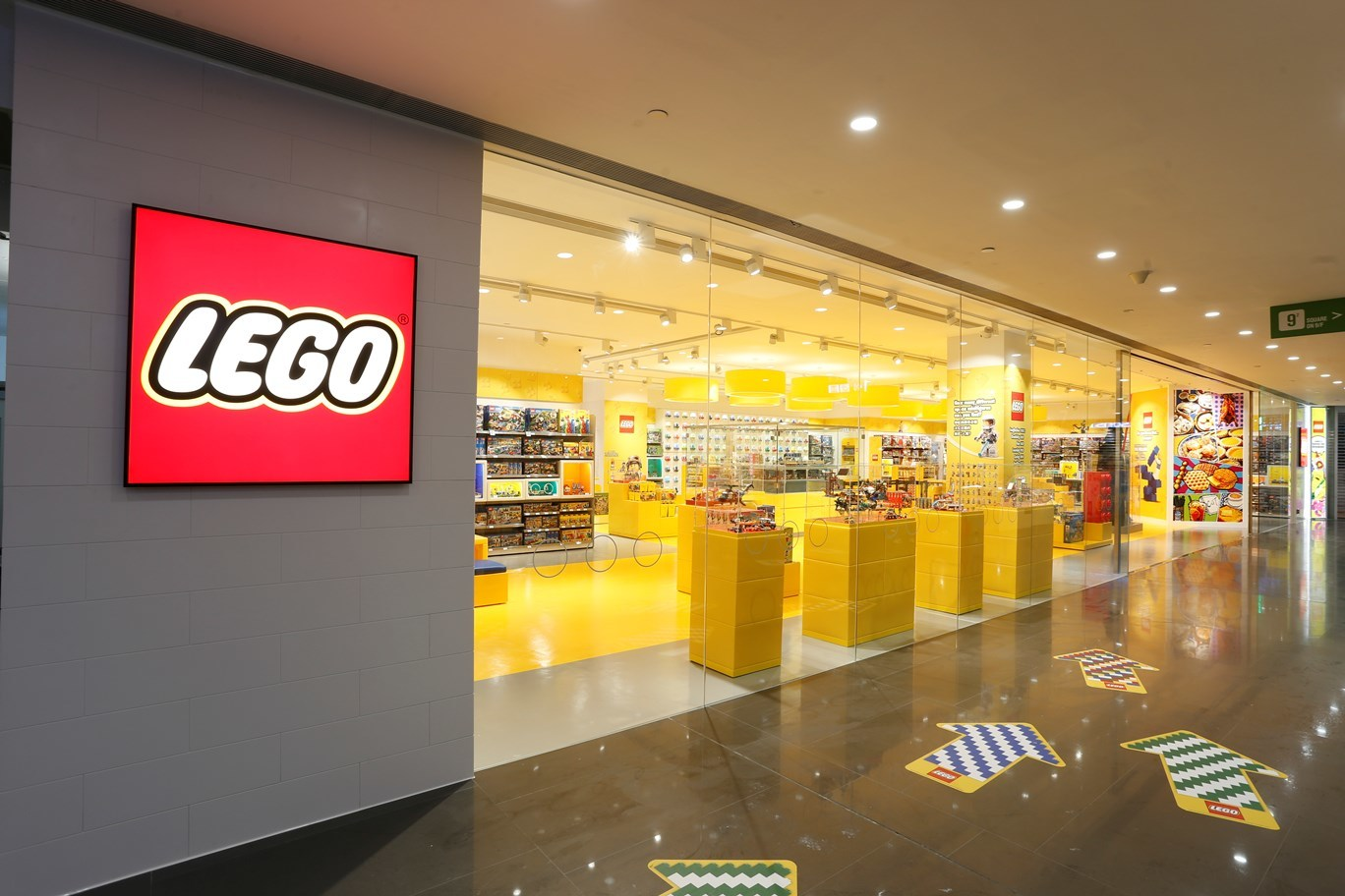 Lego Store Times Square