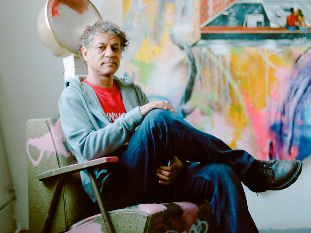 Graffiti legend has traded subway cars for canvas