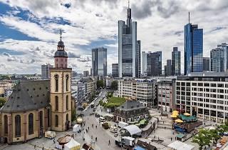 Frankfurt Hauptwache Plaza