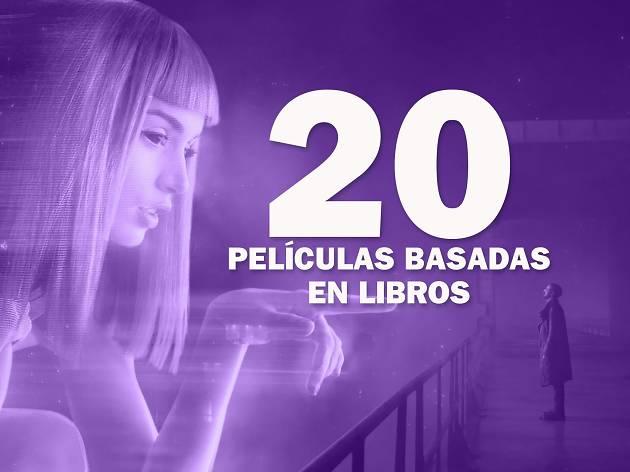 20 películas basadas en libros