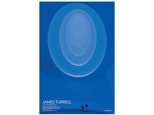 James Turrell Exhibition Poster