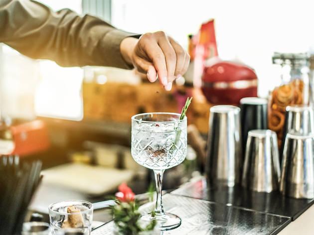 Gin making at The Gin Lounge