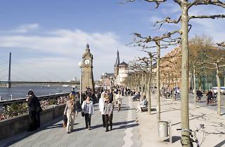 Rhine Embankment Promenade
