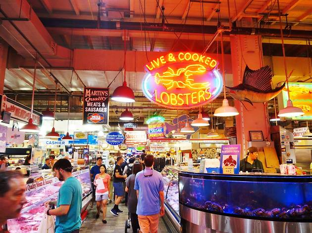 Reading Terminal Market is an essential experience for anyone visiting Philadelphia.