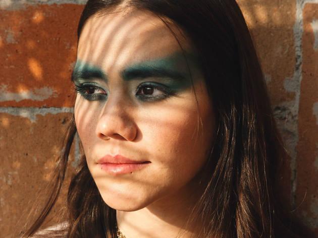 Paulina Sotomayor en el GRRRL NOISE