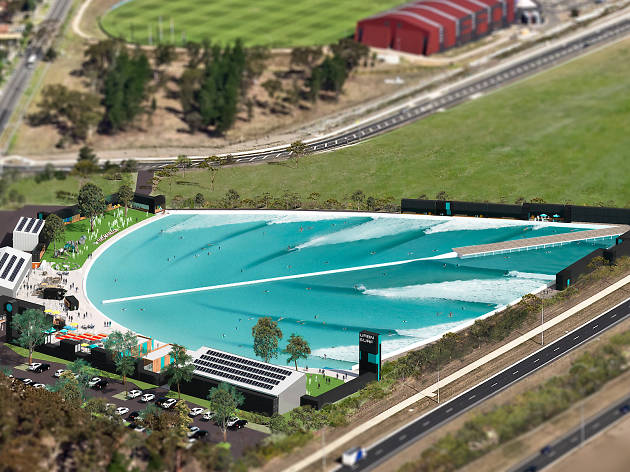Australia's first inland surf park is coming to Melbourne