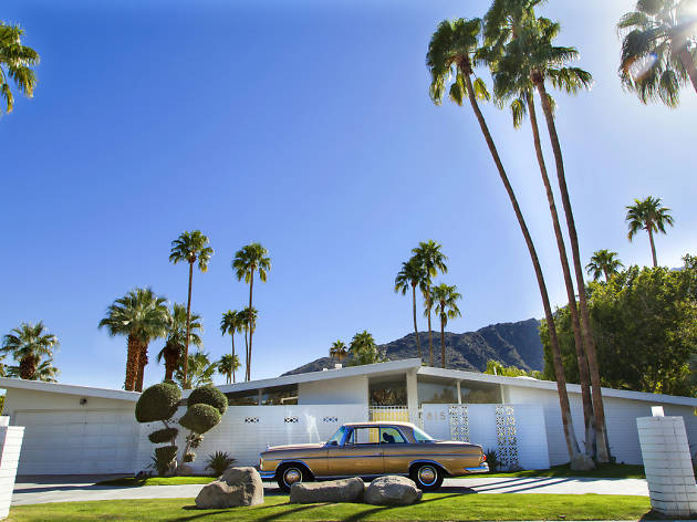 Palm Springs modernist house