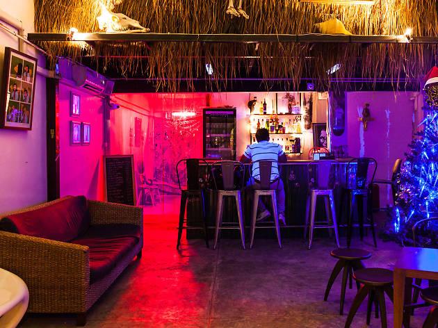 F. Orange Bar