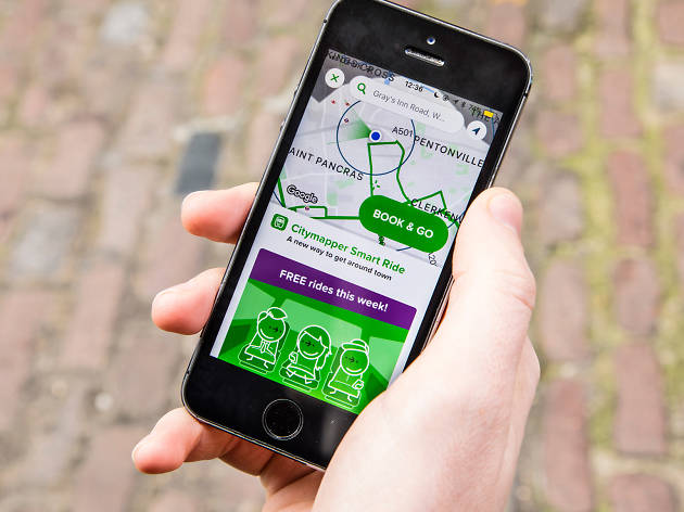 Citymapper Smart Ride