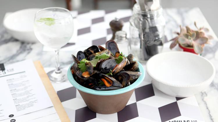 Restaurante, Moules & Gin, Cascais