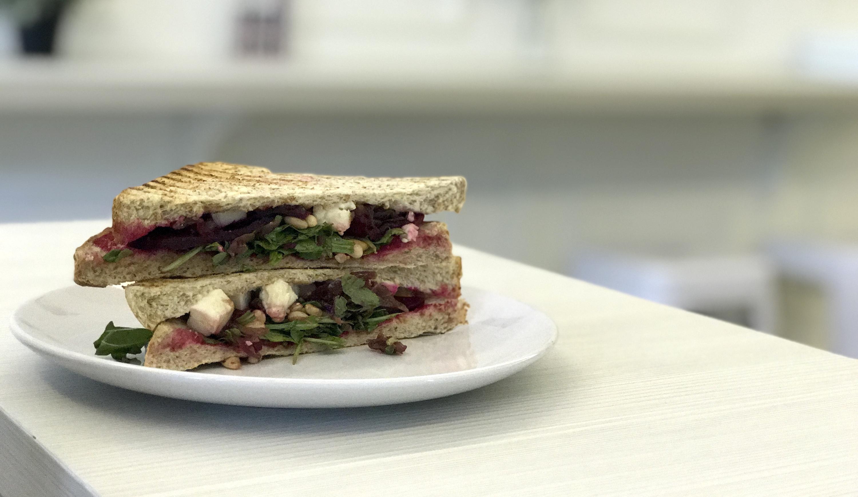 Kind Kones beetroot sandwich