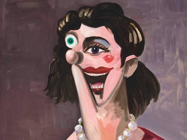 George Condo, Face/Off
