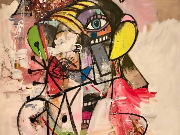 George Condo: Expanded Portrait Compositions