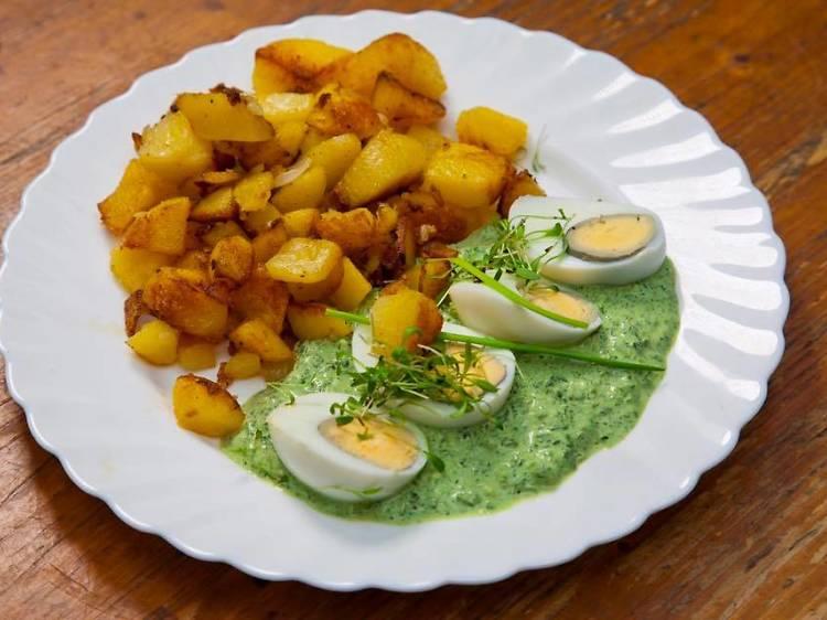 Grüne Soße (green sauce)