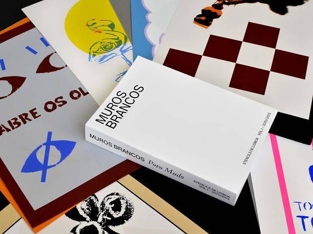 Mais de mil stencils de Lisboa em livro