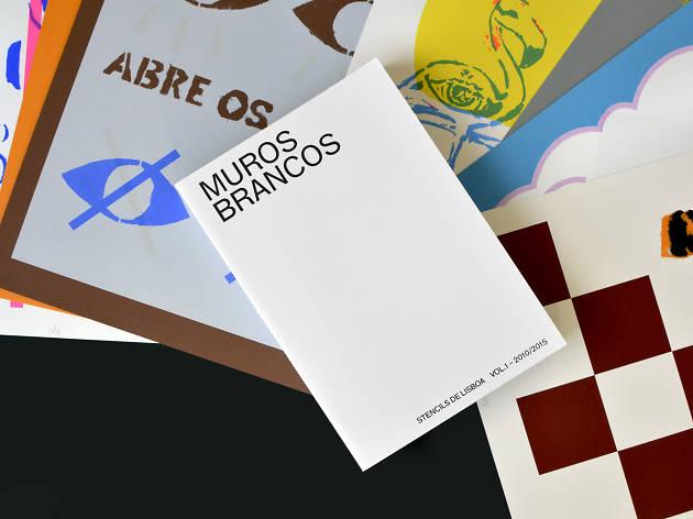 Muros Brancos (Povo Mudo) Stencils de Lisboa Vol.1 2010 ‒ 2015