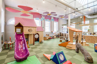 Nest is an indoor play space for kids in Center City, Philadelphia.
