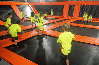 Let your kids jump till the cows come home at HFS City Trampoline Park in Philadelphia