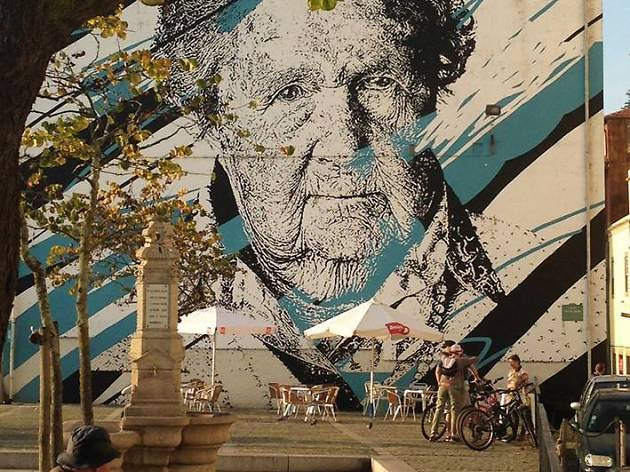 Mural de Daniel Eime - Mira