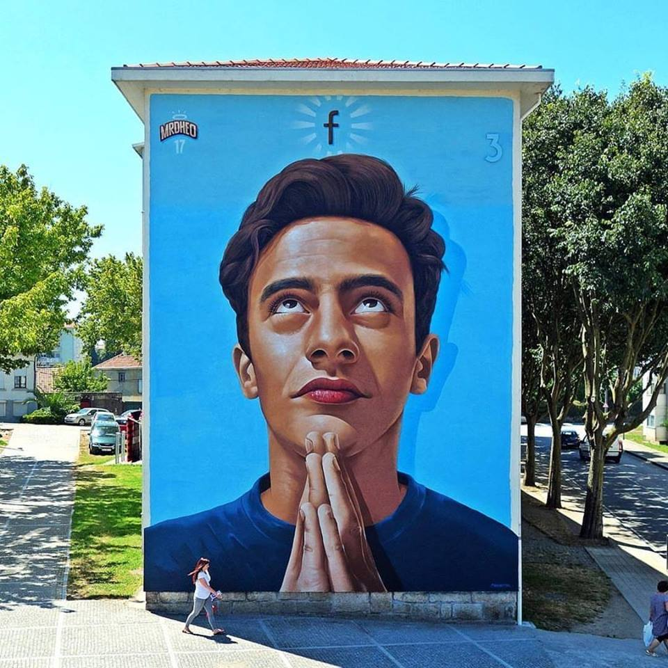 Mural de Mr. Dheo - Bairro dos Francos