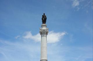 estátua rossio