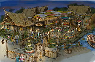 Disneyland's adding a new market and restaurant, the Tropical Hideaway, in Adventureland
