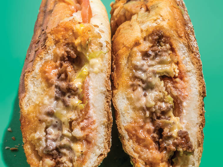 The $5.75 Chopped Cheese at Blue Sky Deli