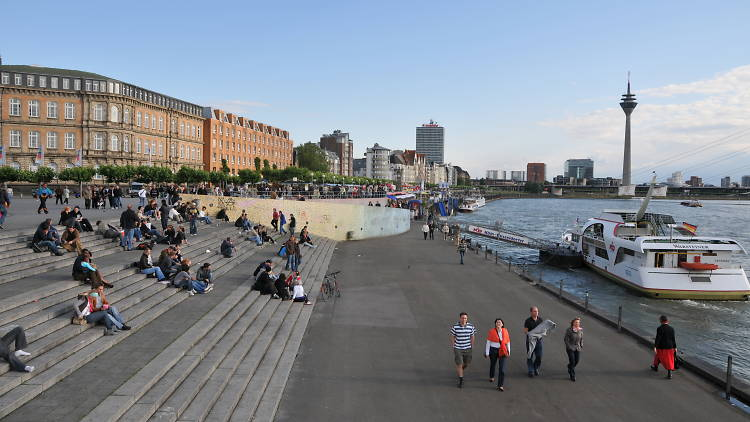 Düsseldorf waterfront