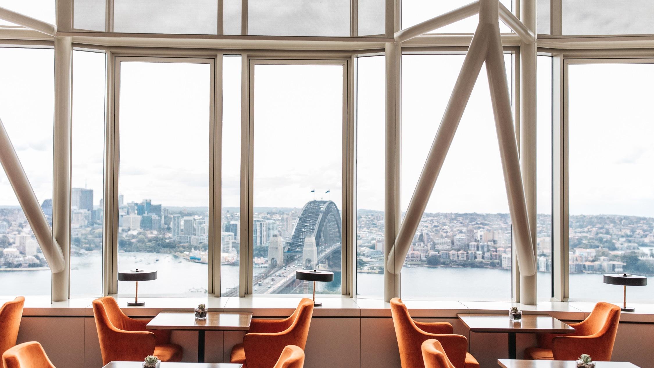 Restaurant Area At The Shangri La Hotel Sydney