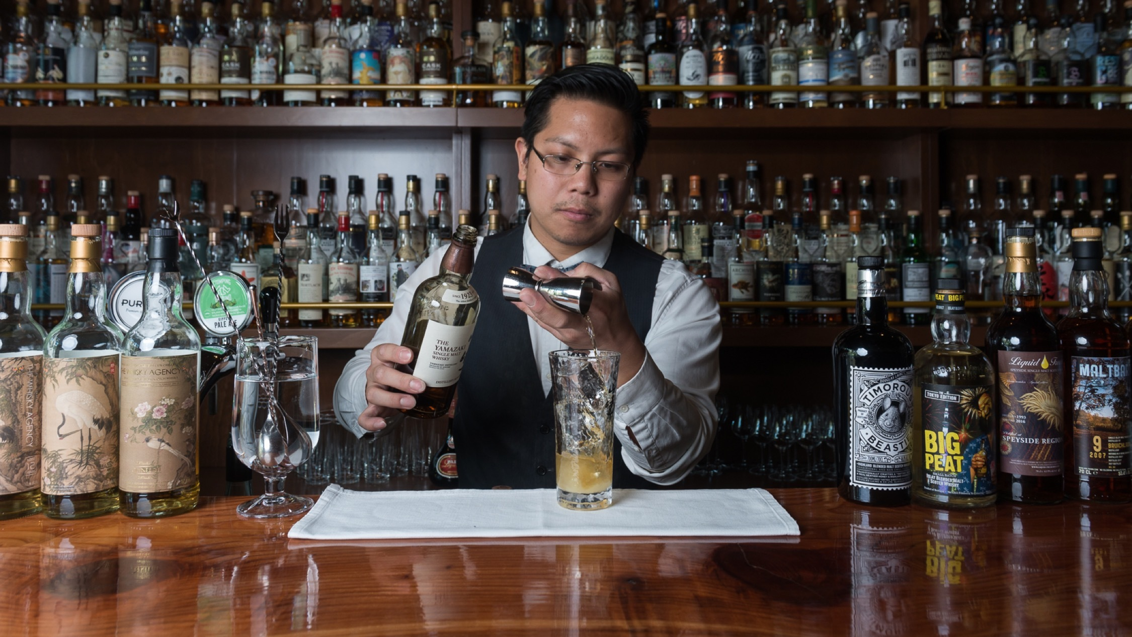 Yao Wong of the Elysian is feeding out-of-work hospitality staff