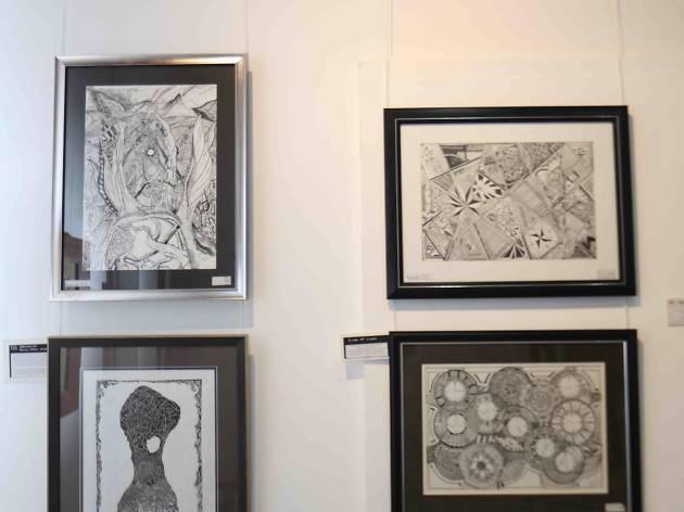 Ilham Sanoon at Blacklit Galleria