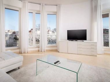 Luxe four-bedroom apartment on Piazza di Spagna