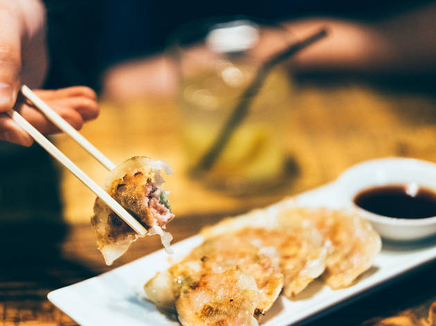 Koku Kitchen Gyoza and Ramen