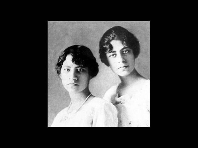 Dolores y Adriana Elhers